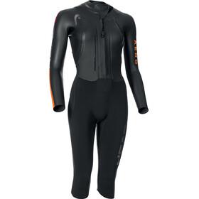 Head W's SwimRun Aero Suit Black/Orange